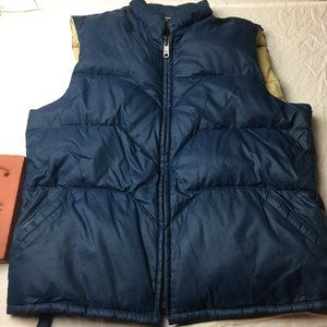 Vintage Sears Outerwear Chore Puffer Down Vest